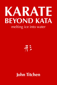 Karate Beyond Kata - melting ice into water